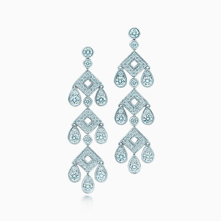 Tiffany Legacy Collection:Pagoda Earrings