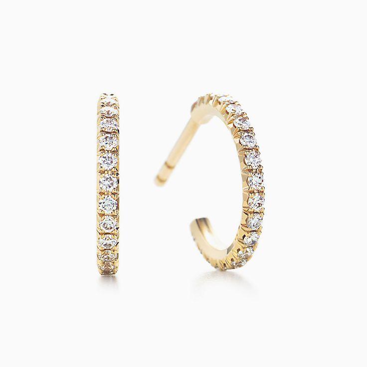 Tiffany Metro:Серьги-кольца