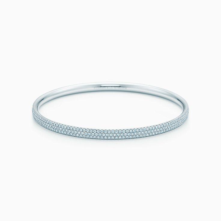 Tiffany Metro:三圈鑲鑽手鐲