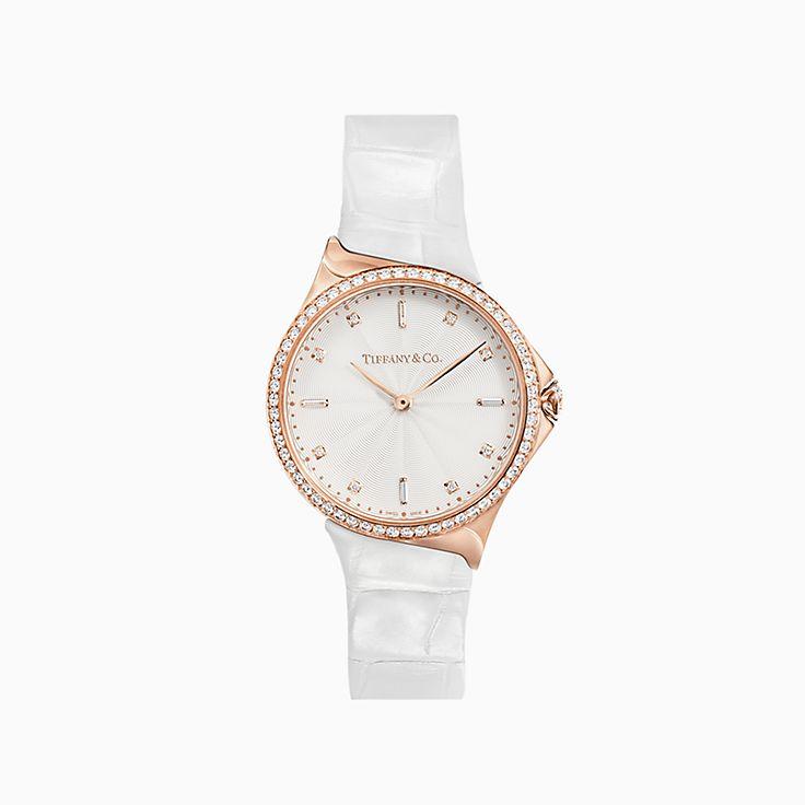 Tiffany Metro:2-Hand 28 毫米腕錶