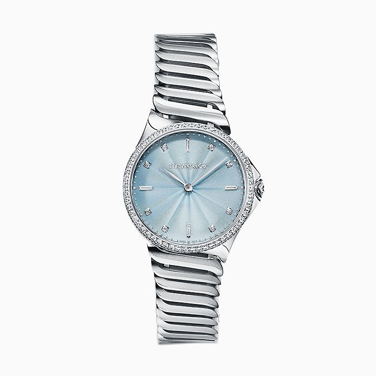 Tiffany Metro:2-Hand 28 mm Watch