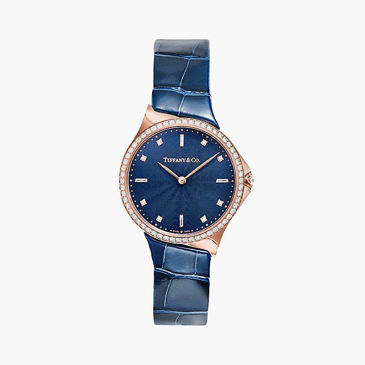 Tiffany Metro:2-Hand 28 mm Watch