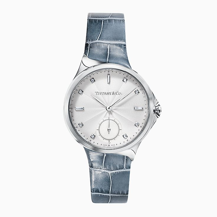 Tiffany Metro:3-Hand 34 mm Watch