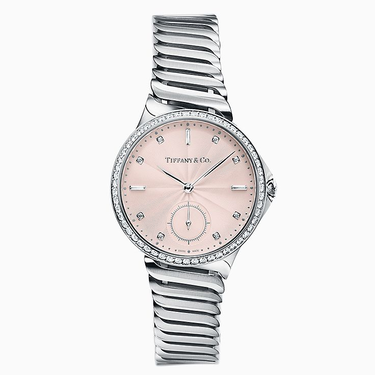 Tiffany Metro:3-Hand 34 mm Watch