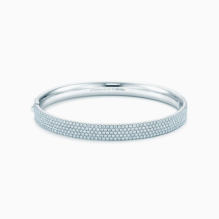 Tiffany Metro:Five-row Hinged Bangle