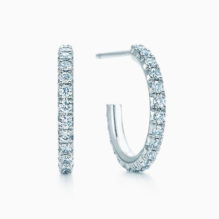 Tiffany Metro:Hoop Earrings