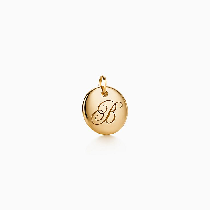 "Tiffany Notes®:Letter ""B"" Disc Charm"