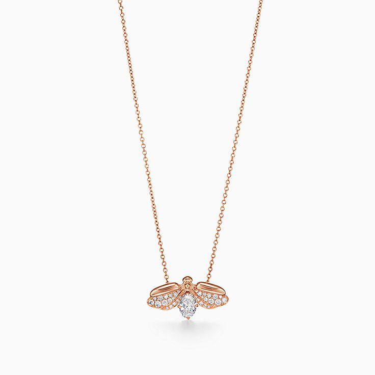 Tiffany Paper Flowers®:Diamond Firefly Pendant