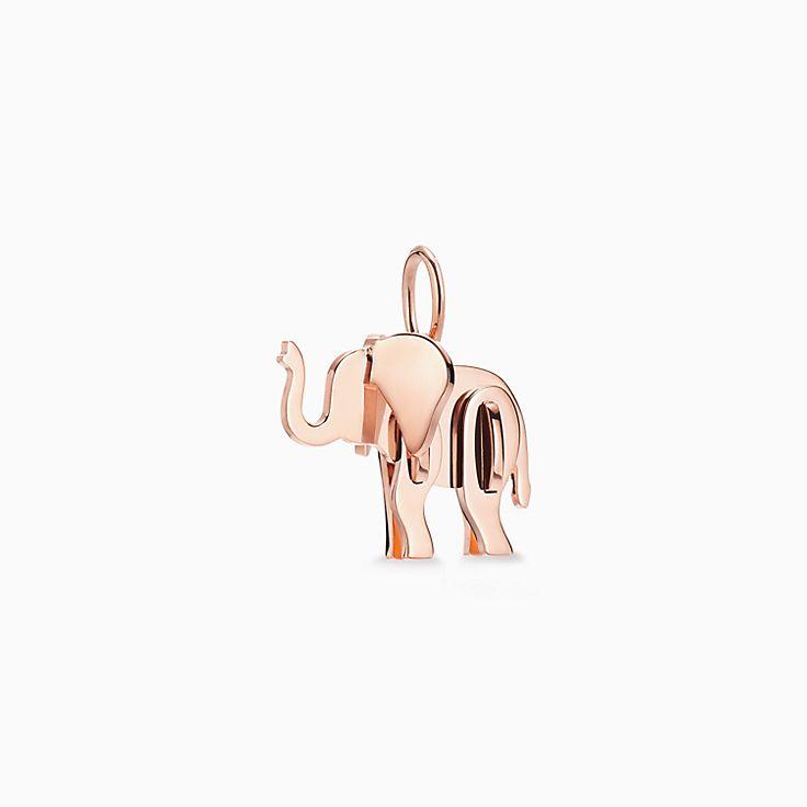 Tiffany Save the Wild:Подвеска-шарм в форме слона