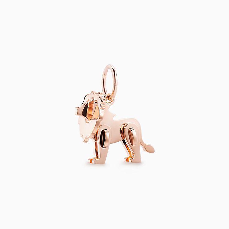 Tiffany Save the Wild:Подвеска-шарм в форме льва