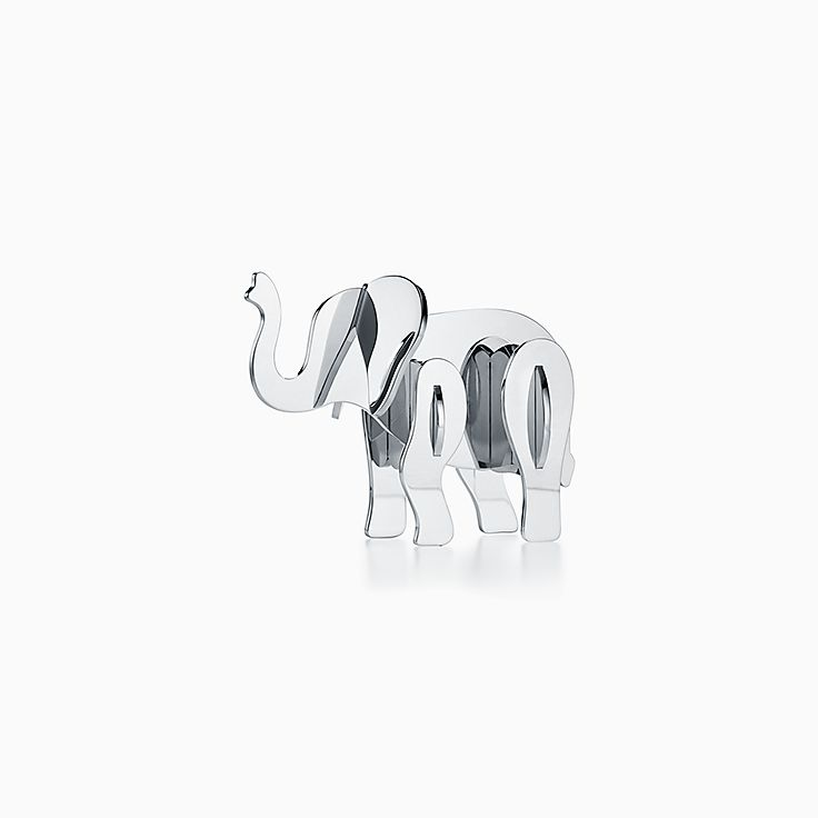 Tiffany Save the Wild:Accesorio de escritorio de elefante
