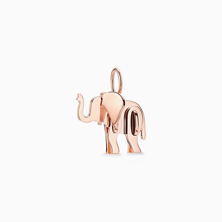 Tiffany Save the Wild:Elephant Charm