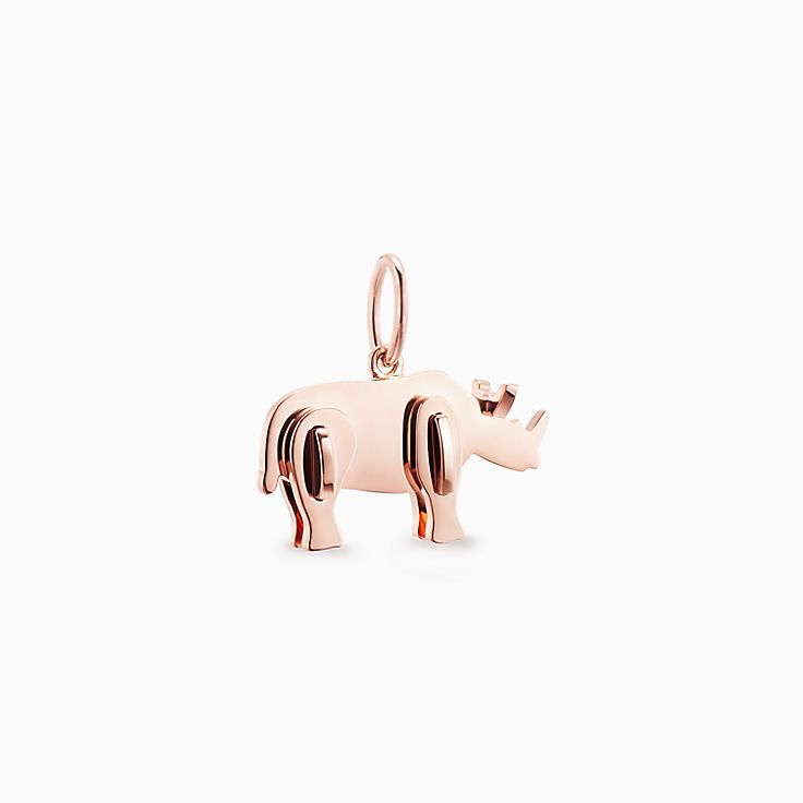 Tiffany Save the Wild:Rhino Charm