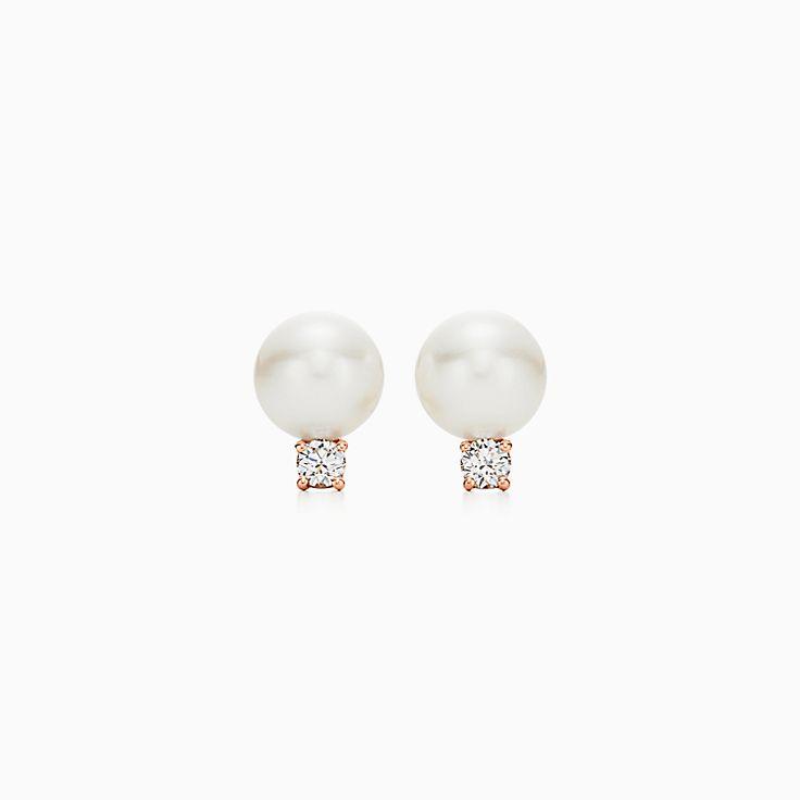 Tiffany Signature® Pearls:Серьги