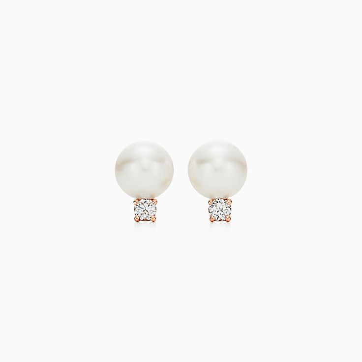 Tiffany Signature® Pearls:Earrings
