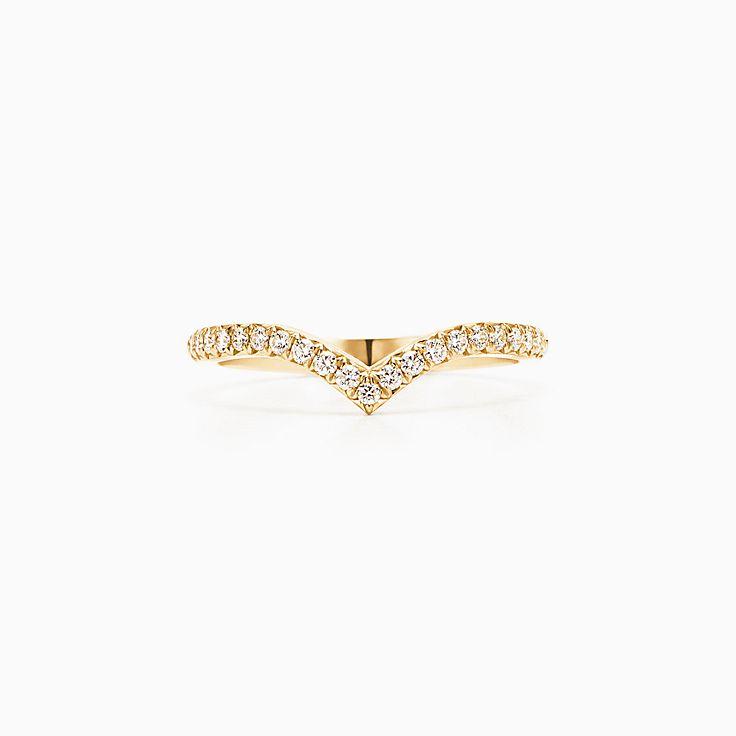 Tiffany Soleste:Кольцос v-образным изгибом