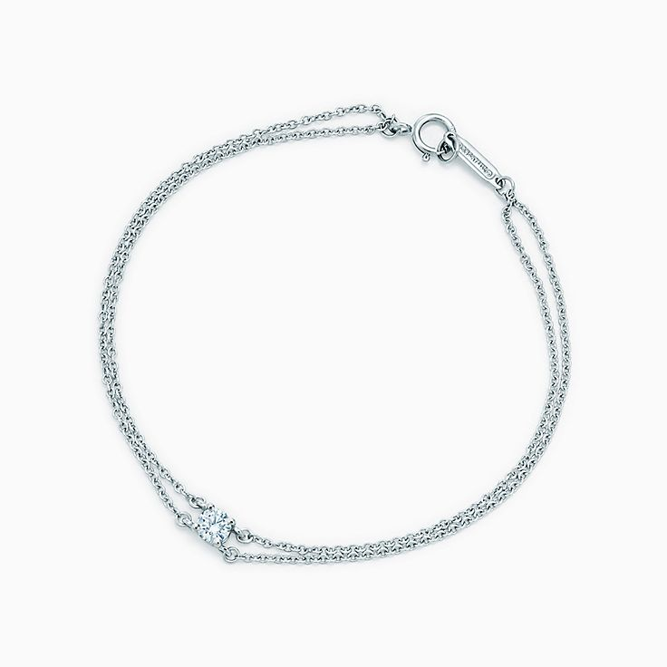 Tiffany Solitaire Diamond Bracelet