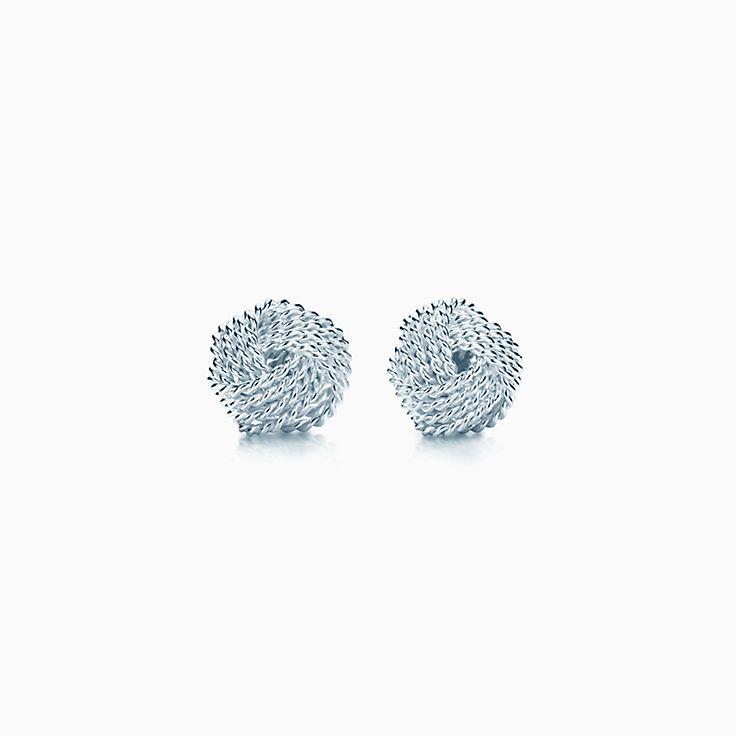 Tiffany Somerset™: Boucles d'oreilles en forme de nœud