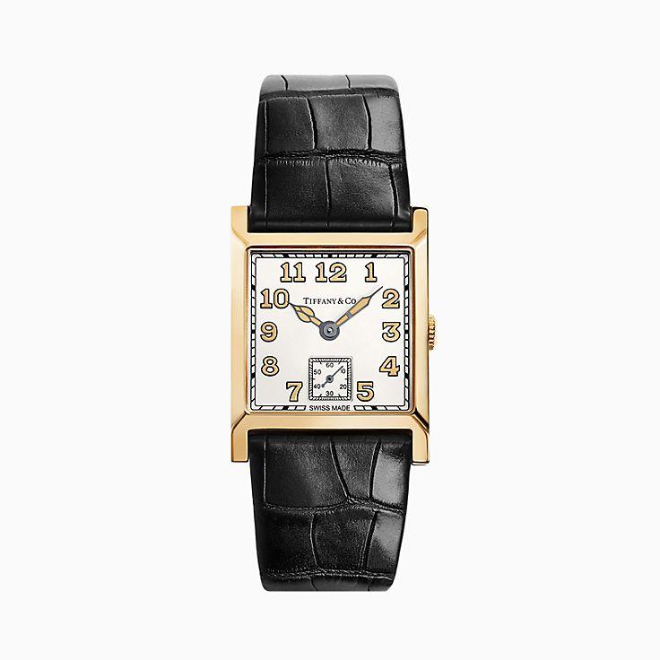 Tiffany Square 2-Hand 27 毫米腕錶
