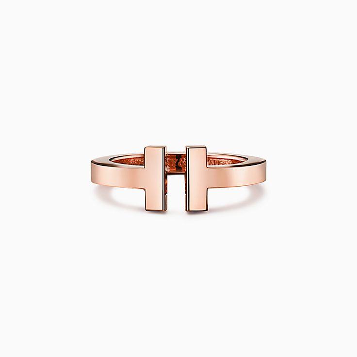 Tiffany T:方形戒指