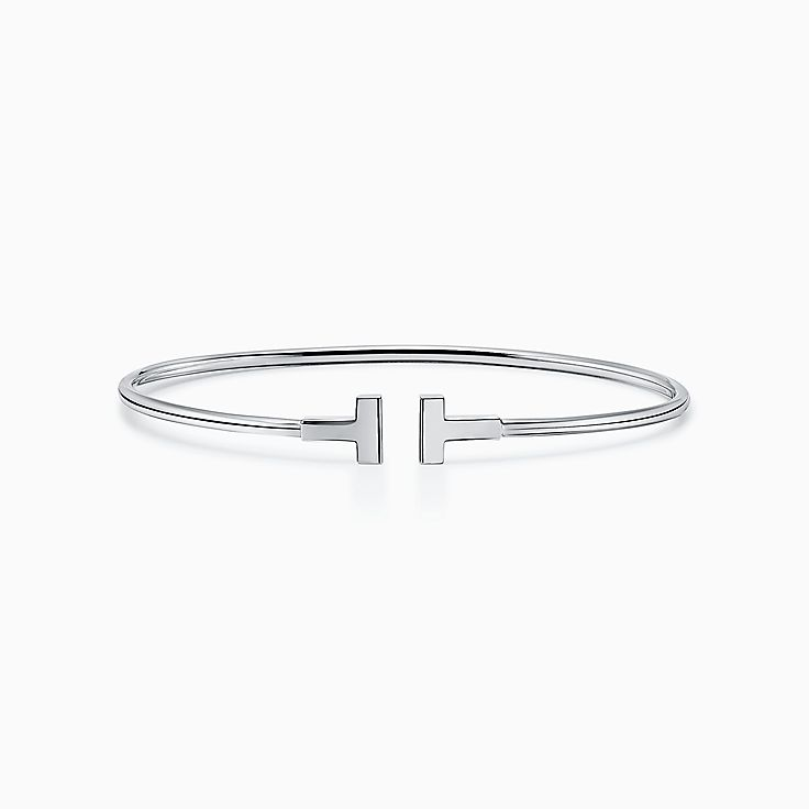 Tiffany T:窄版線圈手鐲