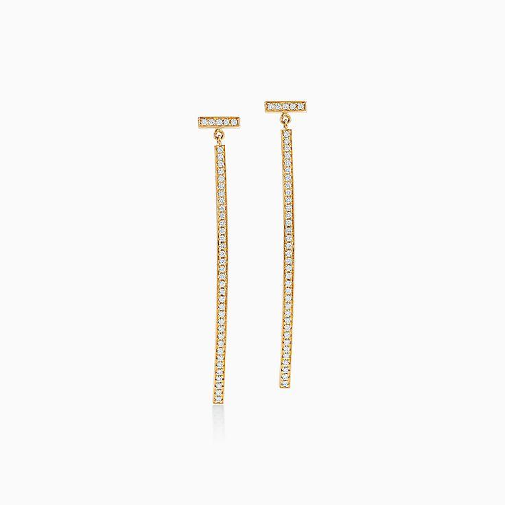 Tiffany T:線棒耳環