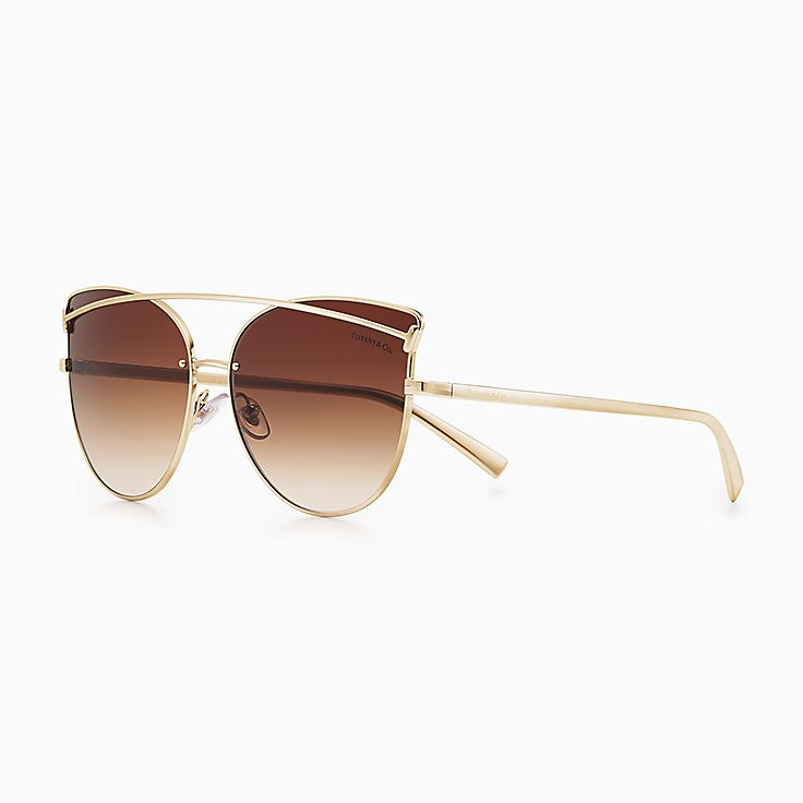 Tiffany T:貓眼形太陽眼鏡