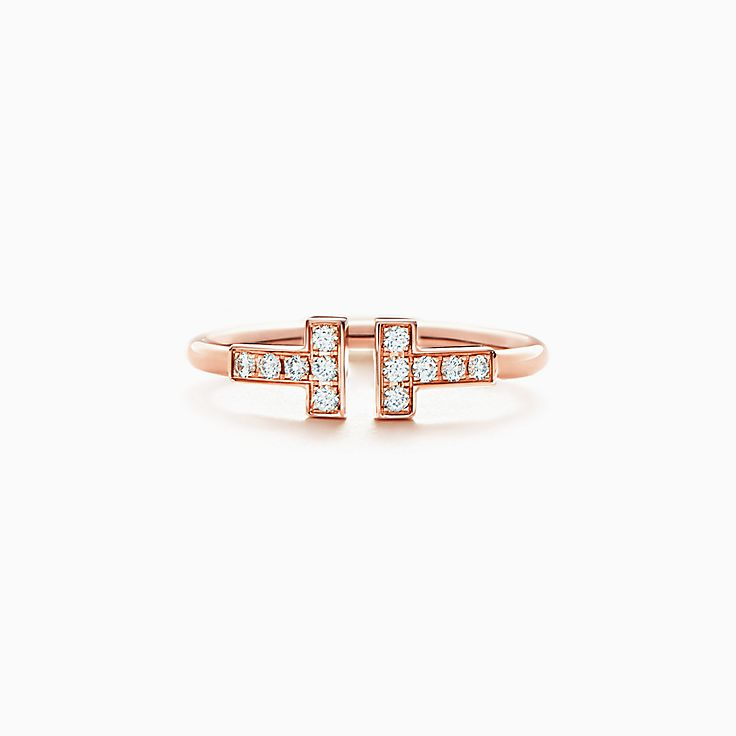 Tiffany T: anel Wire