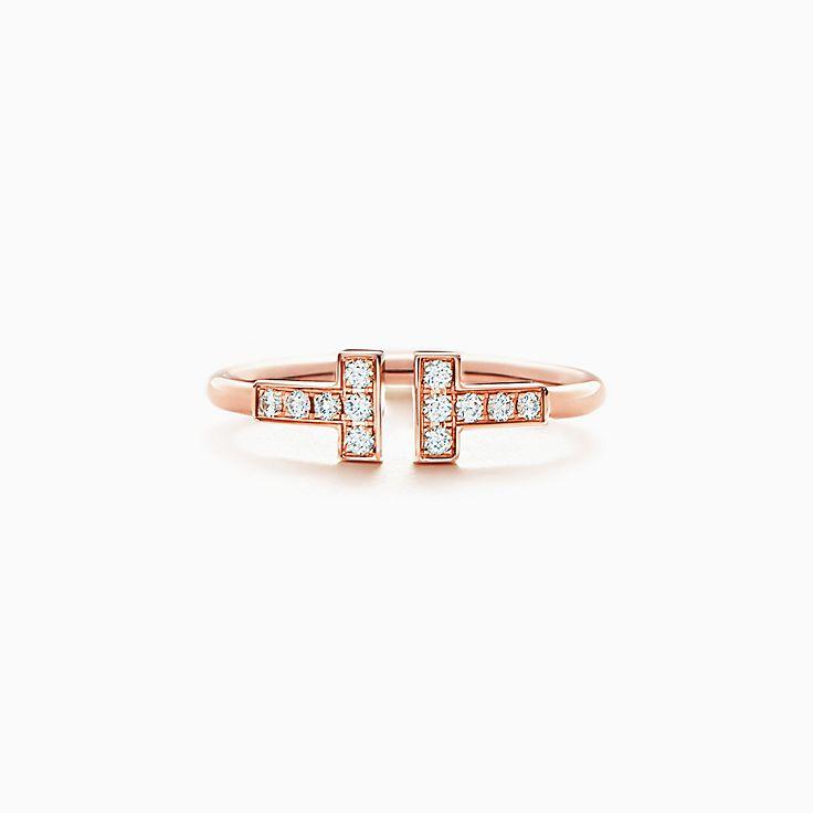 Tiffany T: anillo Wire