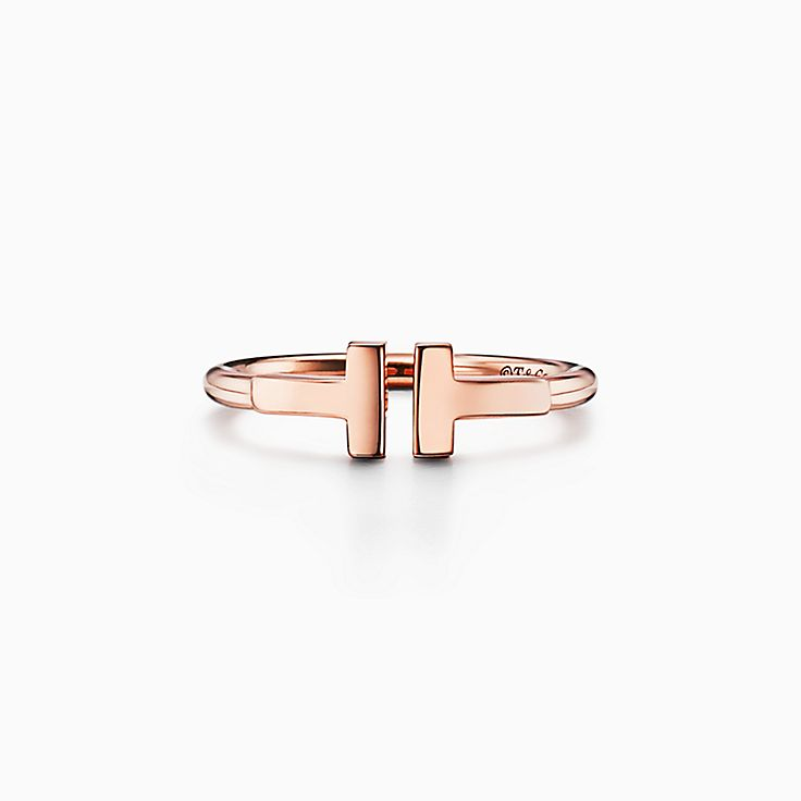 Tiffany T: Bague Wire