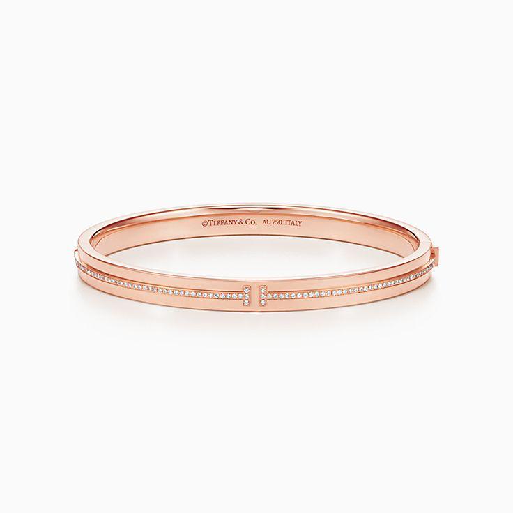 Tiffany T: bracelet à deux charnières