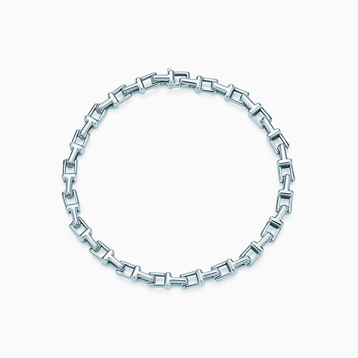 Tiffany T: schmales Gliederarmband