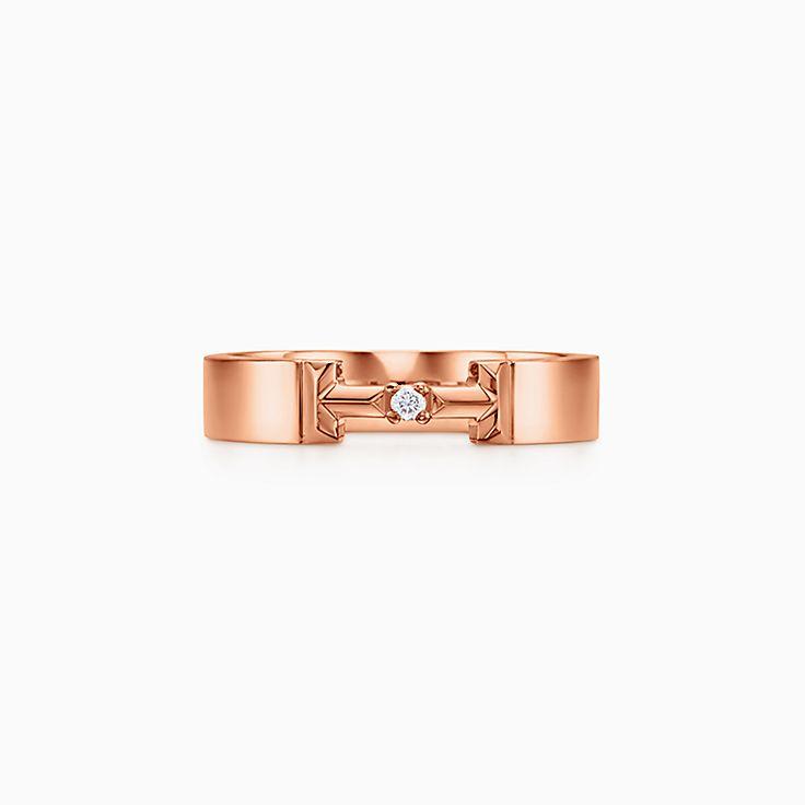 TiffanyT:Кольцо с бриллиантами True Diamond Link