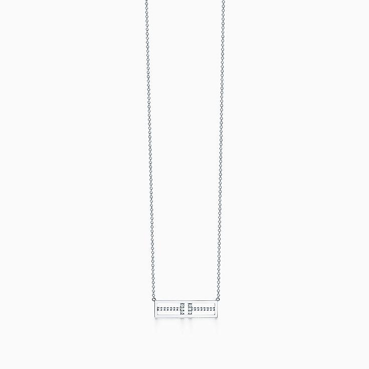 Tiffany T: Two: подвеска в виде открытой горизонтальной планки