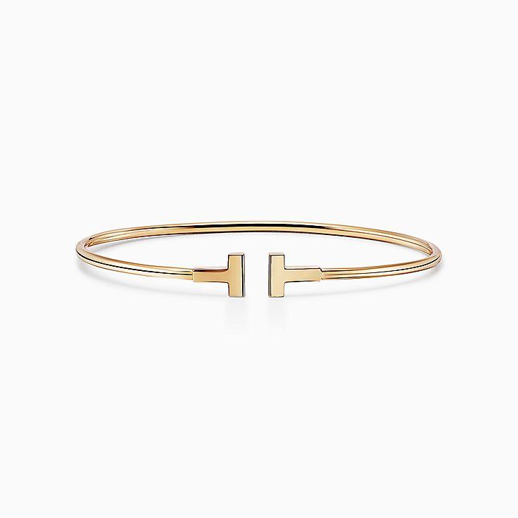 Tiffany T: узкий браслет Wire
