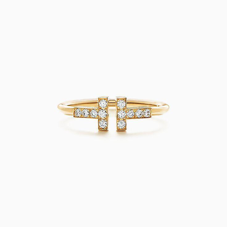 Tiffany T: кольцо Wire