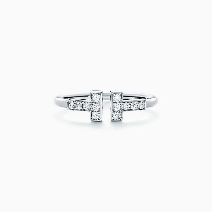 Кольцо Tiffany T Wire