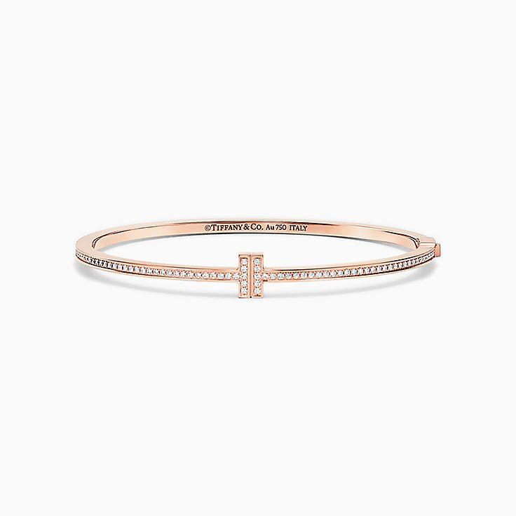 Tiffany T:Bracelet à charnière Two