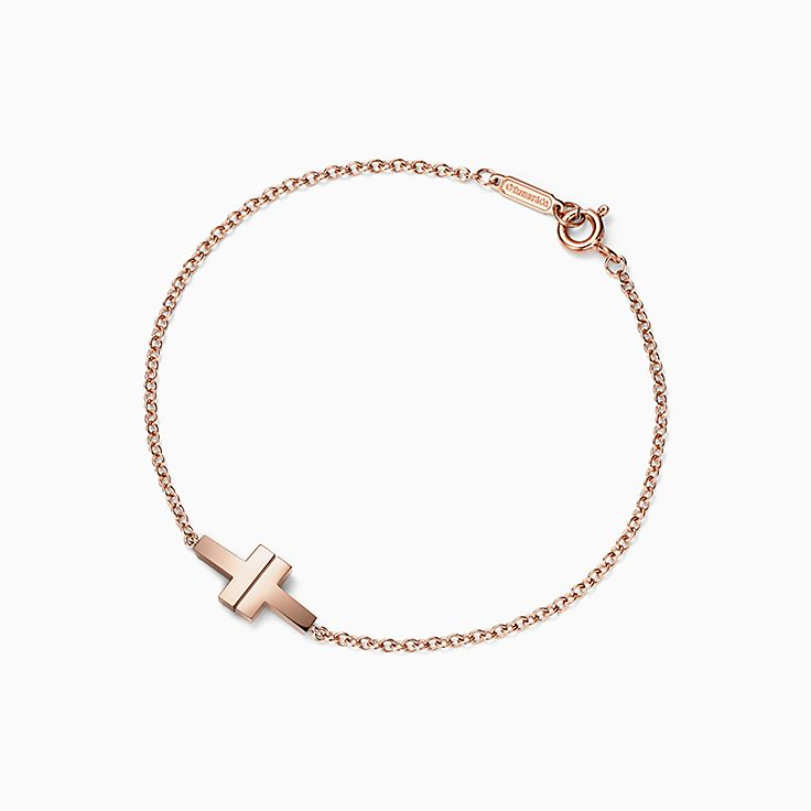 Tiffany T:Bracelet Two chaîne simple