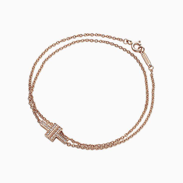 Tiffany T:Bracelet Two double chaîne