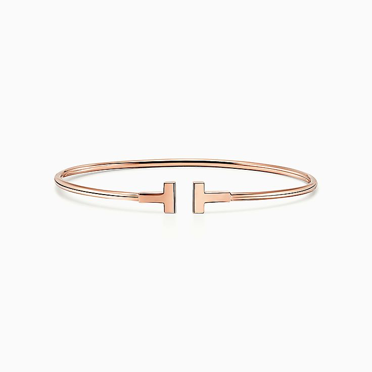Tiffany T:Narrow Wire Bracelet