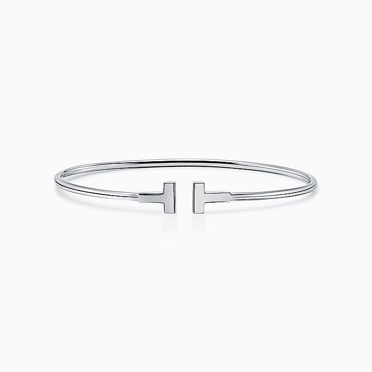 Tiffany T:Narrow Wire Bracelet