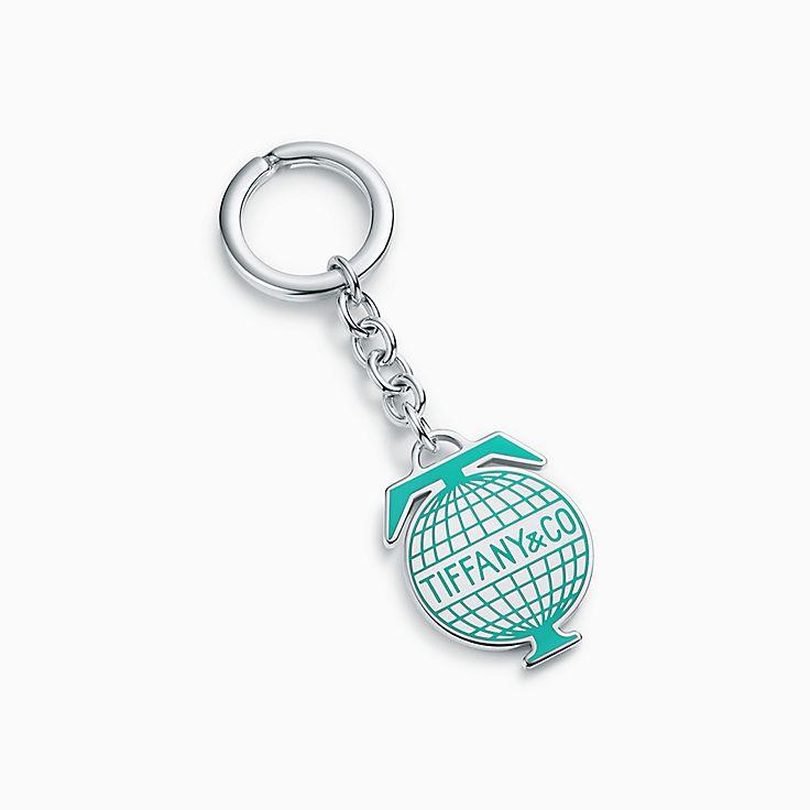 Tiffany Travel:llavero de globo terráqueo