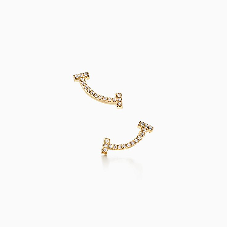 Tiffany T:Smile Earrings