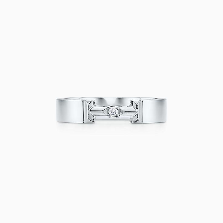 Tiffany T:True Diamond Link Ring