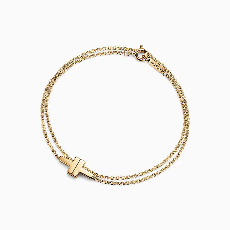 Tiffany T:Two Double Chain Bracelet