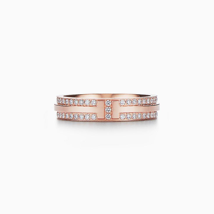 Tiffany T:Two Narrow Ring