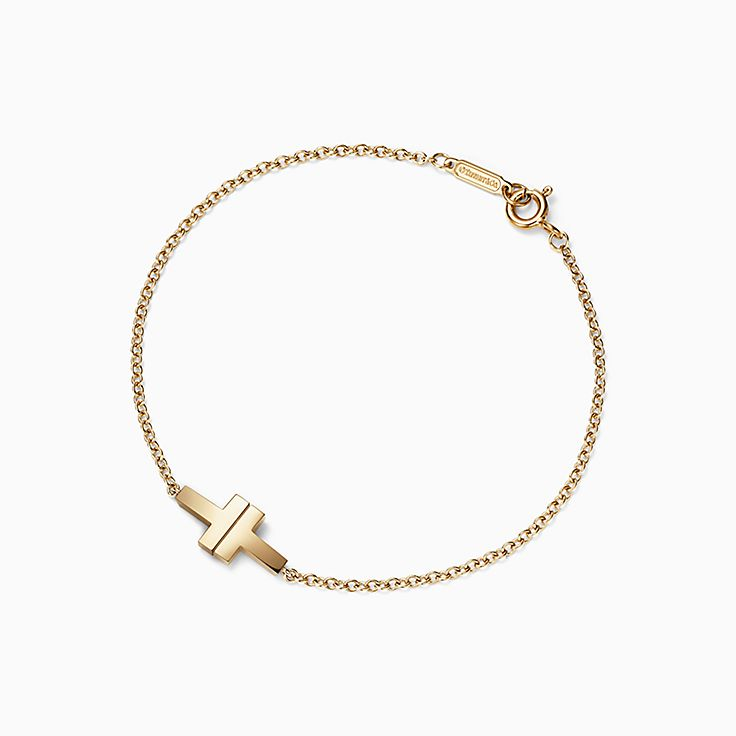 Tiffany T:Two Single Chain Bracelet