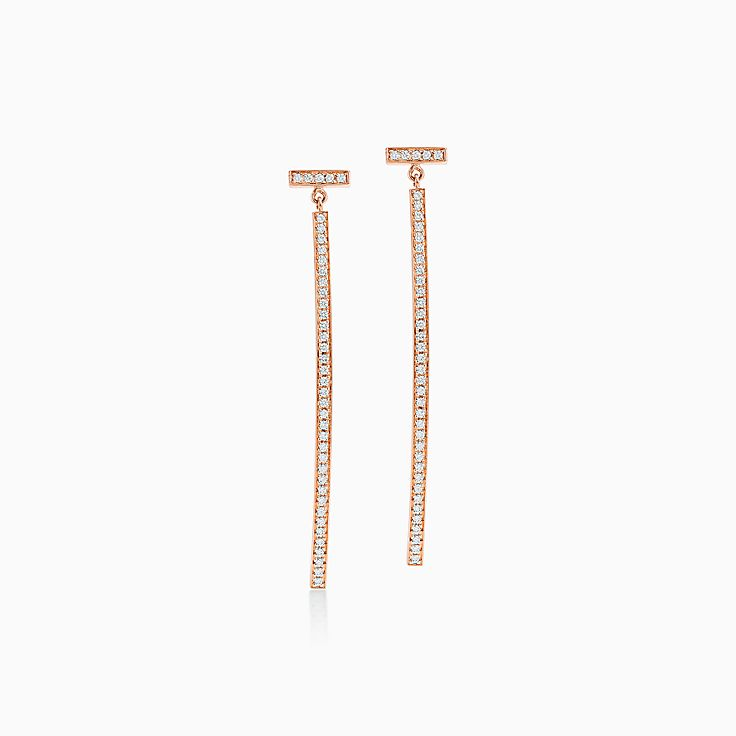 Tiffany T:Wire Bar Earrings