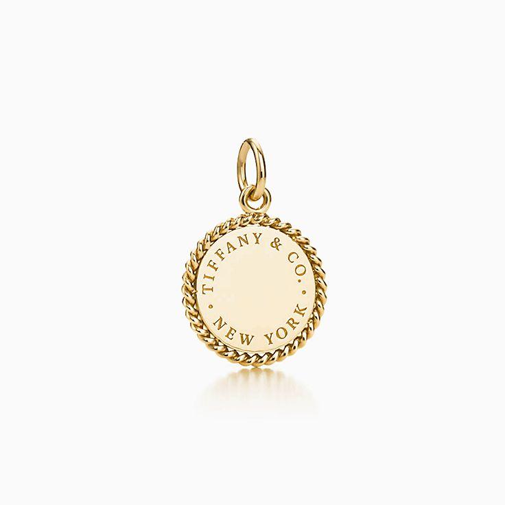 Tiffany Twist:Round Charm